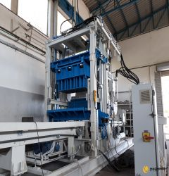 Stationary block making machine SUMAB R 500